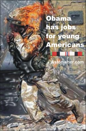 Obama has jobs for young Americans!