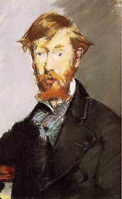 George Moore by Eduoard Manet