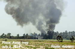 Awja, Iraq, July 3, 2014