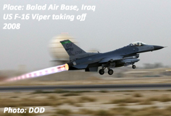F16 Viper at Balad Air Base