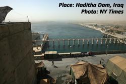 Haditha Dam, Iraq