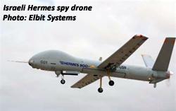 Israeli Hermes spy drone