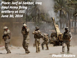 Jurf al-Sakhar, Iraq, June 30, 2014