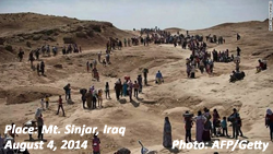 Mt. Sinjar, Iraq