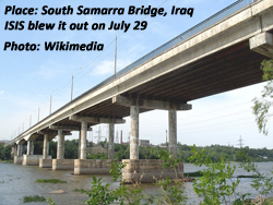 South Bridge over Tigris at Samarra, Iraq