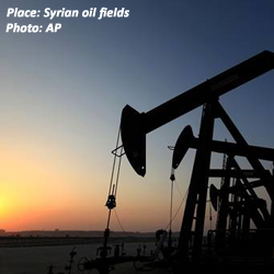 Syrian oil field