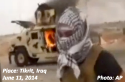 ISIS in Tikrit, Iraq, June 12, 2014