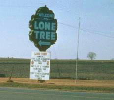 "photo from ""Lone Tree"" by Bruce Brown"