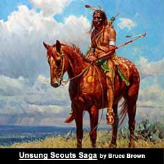 """The Unsung Seventh Cavalry Scouts Saga"" by Bruce Brown on Astonisher.com"