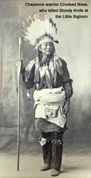Cheyenne warrior Crooked Nose