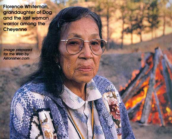 Florence Whiteman, the last woman warrior among the Cheynne
