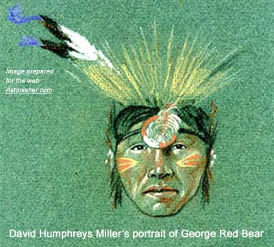 David Humphreys Miller's portrait of George Red Bear