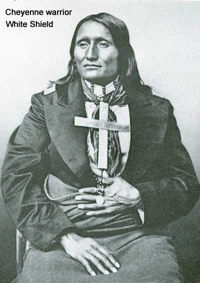 Cheyenne warrior White Shield, hero of the Rosebud and th4e Little Bighorn