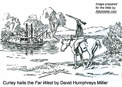 """Curley hails the Far West"" by William Humphreys Miller"