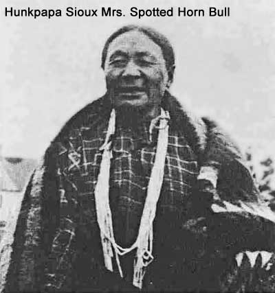 Hunkpapa Sioux Mrs. Spotted Horn Bull