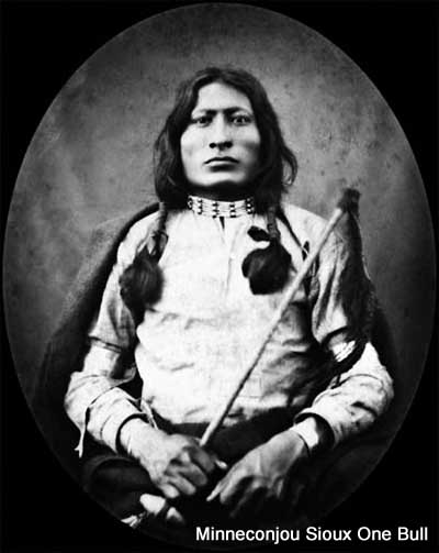 Hunkpapa Sioux war chief One Bull