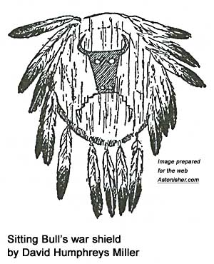Sitting Bull's war shield by David Humphreys Miller
