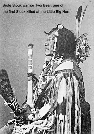 Brule Sioux warrior Two Bear