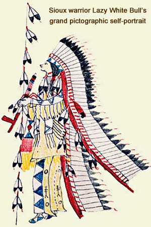 Oglala Sioux warrior White Bull