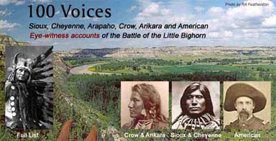 """100 Voices from the Little Bighorn"" by Bruce Brown"