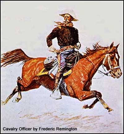 Cavalry Officer by Frederic Remington