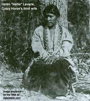 "Helen ""Nellie"" Laravie, Crazy Horse's third wife"