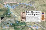 Peter Thompson route map thumbnail