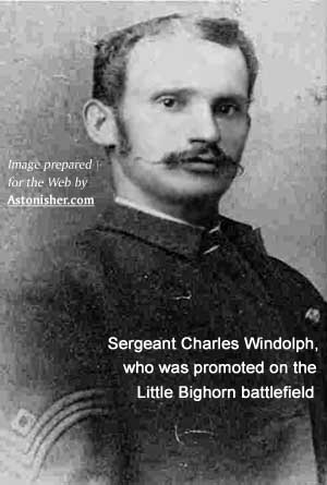 Sgt. Charles Windolph AKA Charles Windolf, Seventh Cavalry survivor of the Battle of the Little Bighorn