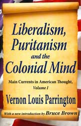 The cover of the 2011 edition of V.L. Parrington's Main Currents In American History