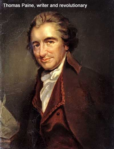 Thomas Paine, writer and revolutionary