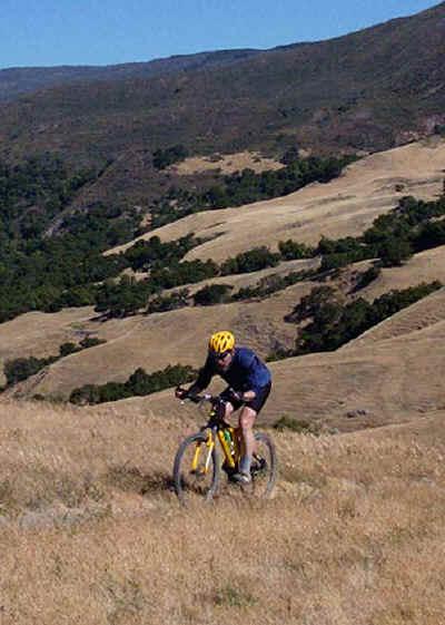 Mt. biking San Luis Opisbo